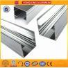 Mechanically Polished Aluminum Profiles High Surface Brightness Black Manufactures