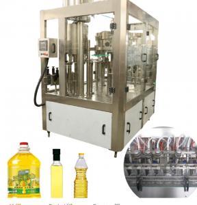 3000 BPH-18000 BPH Edible Oil Production Line PET Bottle Vegetable Oil Filling Machine Manufactures