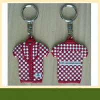 OEM factory custom 3d logo name rubber pvc keychain with factory price Manufactures