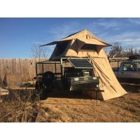 Buy cheap Water Resistant 4x4 Roof Top Tent Easy Operate With Side Awning CE Certificated from wholesalers