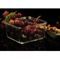 Recyclable Borosilicate Airtight Microwave Safe Glass Bowl Heat Resisting Manufactures