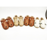 Real Leather EU 23-30 CPC Rubber Outsole Leather Shoes