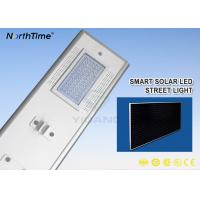 7200LM Sunpower Solar Panel 18V 70W Automatic Dim Integrated Solar Street Light Manufactures
