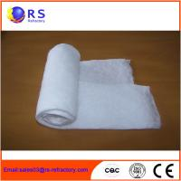 High Purity Ceramic Fiber Blanket Refractory Materials For Furnace Fire Protection Manufactures