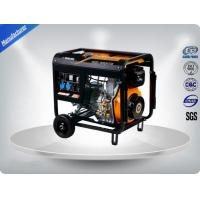 Single Phase Electric Start Portable Generator Set Three Loops For Home Manufactures