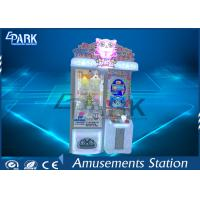 Coin Operated Gift Scratch Crane Claw Vending Game Machine 1 Year Warranty Manufactures