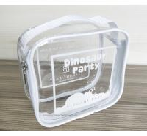 100% handmade Transparent PVC Reusable Ziplock Bags 14*14*7 CM Manufactures
