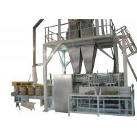 Open Mouth Bag Filling Machines For Animal Pet Food Packaging With Double Heads Manufactures