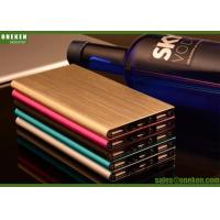 Dual USB Fast Charging Power Bank 6000mAh Ultra Slim Portable Fast Charger Manufactures