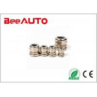 PG plated brass cable gland for fixing cables Manufactures
