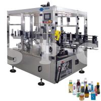 Automatic Self Adhesive Bottle Labeling Machine For Glass Plastic Round Bottles Manufactures