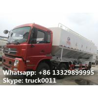 cheaper dongfeng tianjin 6*2 15tons electronic system discharging feed delivery truck for sale, hot sale 30tons anim Manufactures