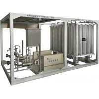 LAr / LCO2 / LNG Boosting Vaporizer Skid Mounted Equipment 100-8000Nm3/h Manufactures