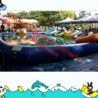 inflatable water slide pool inflatable bumper cars water pool Manufactures