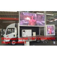 Quality HOT SALE! 2017s new ISUZU 4*2 LHD mobile LED truck with 3 sides P6 LED screens, best price ISUZU P6 LED billboard truck for sale