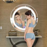 Buy cheap Round And Rectangular Bathroom Mirror , Hotel Light Up Mirror With Bluetooth from wholesalers