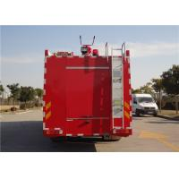 Huge Capacity Commercial Fire Trucks With Direct Injection Diesel Engine Manufactures