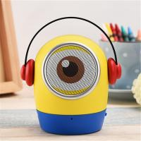 Minions JYWT Creative Bluetooth Speakers Hands Free MP3 Player MIC TF USB Toy Manufactures