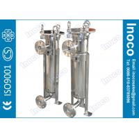 BOCIN Water Oil Single Bag Filter Housing Pn 1.0mpa / 1.6mpa Swing Bolts Manufactures