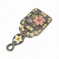 Metal Alloy Brooch, Available in Various Sizes and Platig Colors Manufactures
