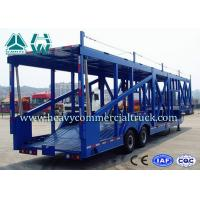 China Long Distance Auto Hauling Trailers For Transporting Cars Enclosed Vehicle Transport on sale