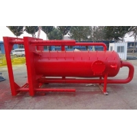 China Best Price Skid-Mounted Drilling Mud Gas Separator For Liquid And Gas / Poor Boy Degasser Manufactures