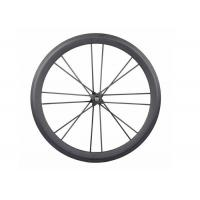 Quality Full Carbon Road Wheelset 700C Straight Pull Carbon DT350 Hub Carbon Spoke for sale