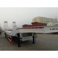 Hot Sale Shengrun 3axle Lowbed Semi Trailer Manufactures