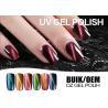 Buy cheap Logo Printable Nail Art Gel Polish Cat Eye , Bright Color Led Nail Gel Polish from wholesalers