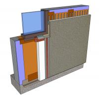 Quality Fireproof VMB Thermal Insulation Exterior Insulated Render Systems for sale