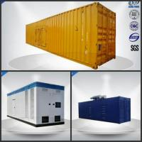 Sixteen Cylinder Container Generator Set 780-975 Kw / Kva With VMAN Diesel Engine Manufactures