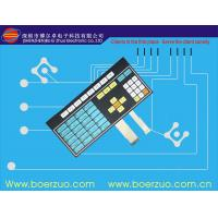 Touch Button Water Resistant Membrane Switch For Micro Oven Cooking Machine Manufactures