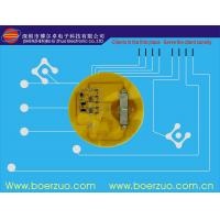 Dust Proof FPC / PCB Membrane Switch Keypad Embossed For Control Equipment Manufactures