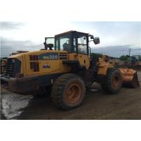 Komatsu WA320-5 Second Hand Front End Loaders Japan Original Color  2.000 Rpm Manufactures