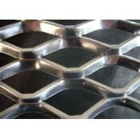 China Expanded Steel Diamond Mesh Punched Process Customized Wire Diameter on sale