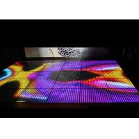 Indoor Led Interactive Floor 500x500mm Rental Rgb Display Panel Energy Saving Manufactures