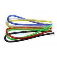 China Stainless Steel Custom Coiled Cable Lanyard Tether Solutions For Safety / Protection on sale