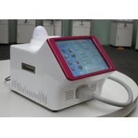 China Excellent humanized design for handle,cute and solid body,Portable Diode Laser Hair Removal Machine on sale
