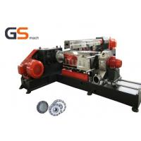 PVC LOSF Filler Masterbatch Plastic Extruder Machine Single with twin screw Manufactures