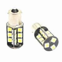 Quality 12V AC 1156 Led Light Bulbs For Cars 5050 SMD Canbus Error-free Turning Light for sale