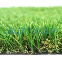 Indoor / Outdoor Commercial Artificial Grass Anti Color Fading Abrasive Resistance Manufactures