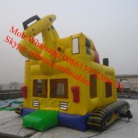 inflatable excavator bouncer air bouncer inflatable trampoline Manufactures
