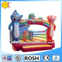 OEM Mickey Mouse Inflatable Bounce House Waterproof 18oz PVC Tarpaulin Manufactures
