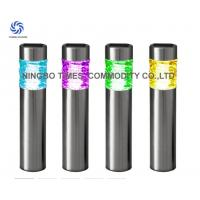 Outdoor Solar Bollard Lights Color Changing Metal Solar LED Tube Lights Manufactures