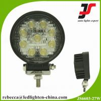 China 4x4 accessories automotive led lights 27w cree led work light Manufactures