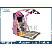 Quality Hitting Amusement Coin Operated Arcade Dance Machine For Game Center for sale