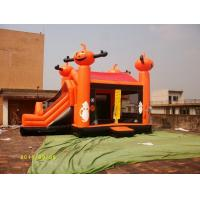 PVC Tarpaulin Inflatable Sports Equipment / Inflatable Playground For Halloween Manufactures