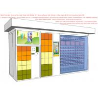 Buy cheap Parcel Send / Collect Smart Vending Machine , All In One Service Kiosk For Mobile Phone Charge from wholesalers