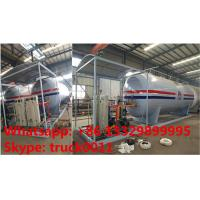 hot sale! 25tons skid lpg gas station with 5 digital weigthing scales for gas cylinders, skid lpg gas refilling plant Manufactures