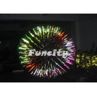 0.8mm Colourful PVC Giant Inflatable Zorb Grassplot Ball for Entertainment Manufactures